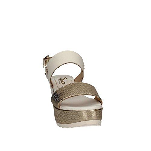 GRACE SHOES Amalfi 91 F1 Sandales Compensées Femmes Or
