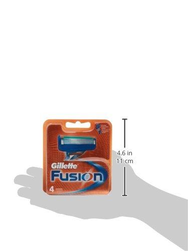 Gillette 34119 -  Cuchillas de afeitar,  4 unidades