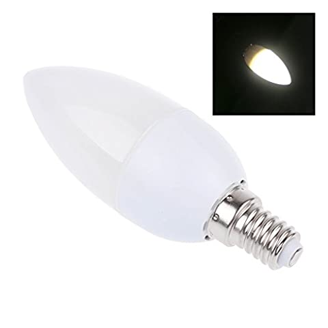 Bloomwin 10pcs/lot Ampoule LED E14 Bougie Flamme 3W SMD 2835