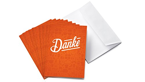 Amazon.de Grußkarte mit Geschenkgutschein - 10 Karten zu je 15 EUR (Danke)