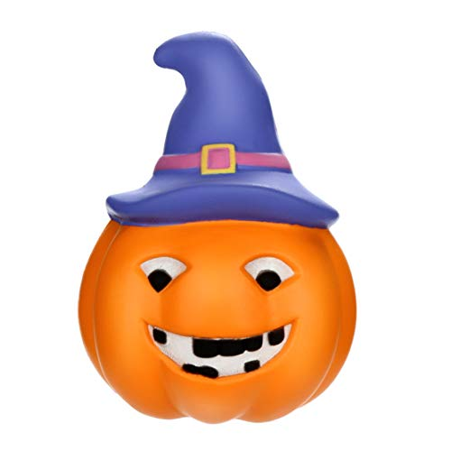 (Happy Event Kawaii Squishy Halloween Luminous Pumpkin Slow Rising Fruit Scented Squeeze Stress Reliever Toy)
