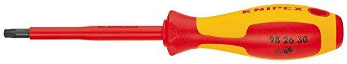 Knipex 98 26 30 Schraubendreher für Torx-Schrauben 210 mm