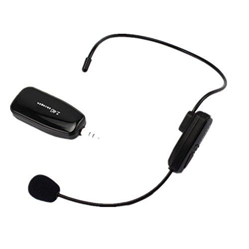Pixnor Profesional 2,4 G inalámbrico micrófono...