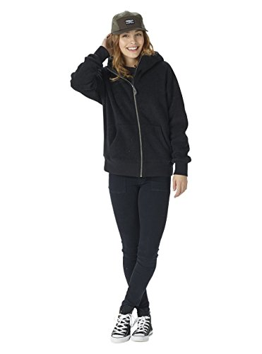 Burton Damen Lynx Full-Zip Hoodie True Black