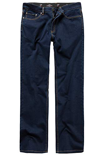 JP 1880 Herren große Größen bis 66, Jeans, Denim-Hose im 5-Pocket-Style, Stretch-Komfort, elastischer Bund & Regular Fit darkblue 56 708067 93-56