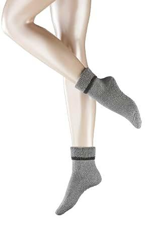FALKE Damen Socken 47540 Cuddle Pads SO, Gr. 35-38, Grau (light grey 3400)