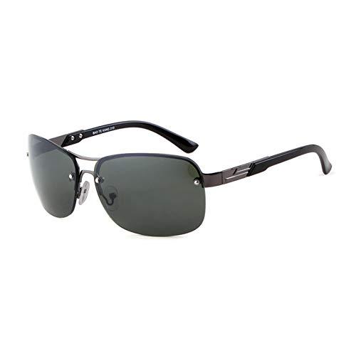 Taiyangcheng Frauen-Doppelstrahl-halbrandlose Sonnenbrille Männer Pilot Gradient Lens Glasses,C4 G15