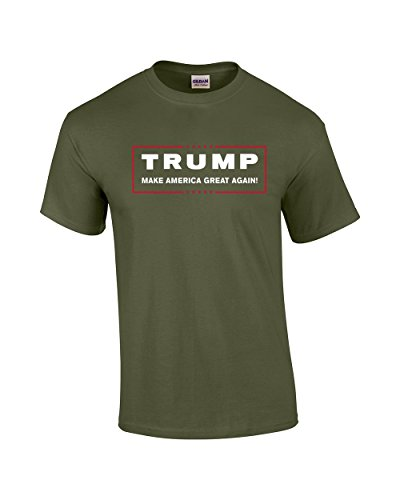 983344787ce Gryeur Donald Trump for President Make America Great Again T Shirt XXXX- Large