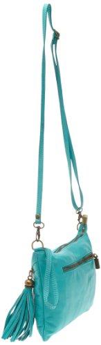 Marina Rossini Ida Clutch Turquoise (002)