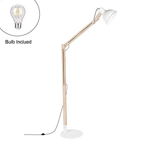 Lámpara de pie con base de metal Viugreum