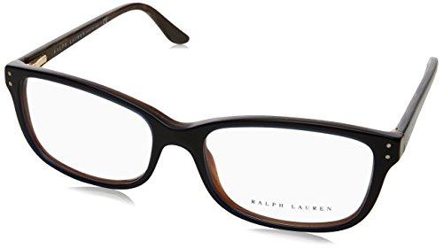Ralph Lauren - RL 6062, Rechteckig, Acetat, Damenbrillen, BLUE BROWN(5150), 54/16/135