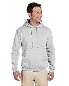Jerzees Men's Super Sweats; Pullover Hooded Sweatshirt Jerzees 4997 Hoodie Sweatshirt