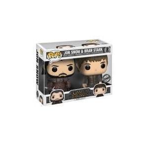 Funko Pop pack Jon Snow y Bran Stark (Juego de Tronos) Funko Pop Juego de Tronos
