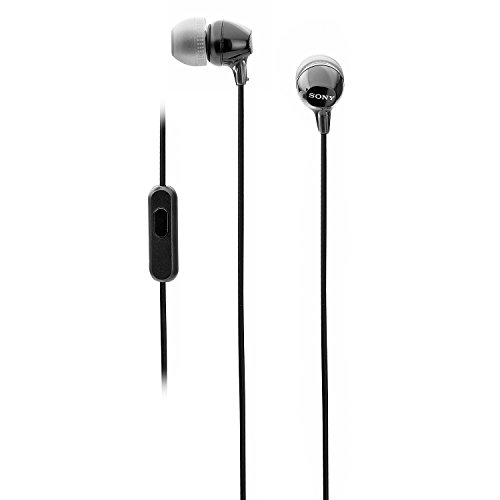 Sony MDR EX14AP in Ear Headset with Mic  Black