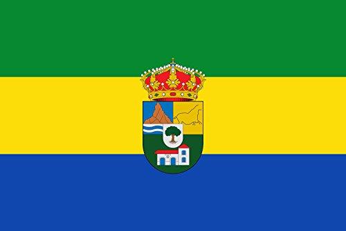 Tres Villas | Municipio de Las Tres Villas en la Provincia de Almería España Bandiera 20x30cm per Diplomat-Flags Bandiere per Auto