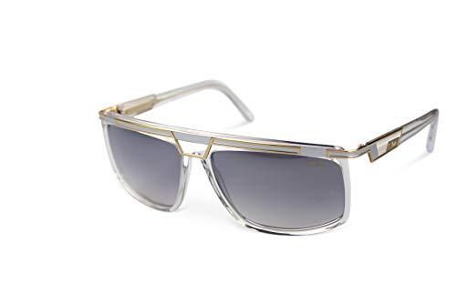 Cazal Sunglasses Sonnenbrille 8036 Kristall Gold Silber (62-15)