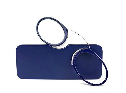 Ssowun Lesebrille Unisex,Lesehilfe Retro Mini Lesung Brille Kunststoff Frame Tragbare Brillengestelle für Damen Herren Reading Glasses Round EINWEG Verpackung