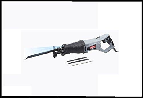 DURO® Säbelsäge ,800 Watt LED-Arbeitslicht 4 Sägeblätter Im Kunststoffkoffer