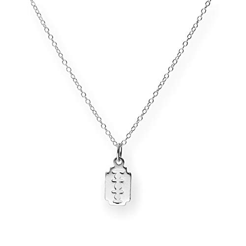 jewellerybox Sterlingsilber 45,7cm Rasierklinge Halskette