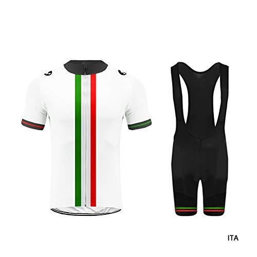 Uglyfrog Maglia da Ciclista da Uomo, Maglia da Ciclismo, Abbigliamento da Ciclista, Pantaloncini da Jersey, Camicia da Ciclismo, Asciugatura Rapida, Abbigliamento da Esterno DXMX03F