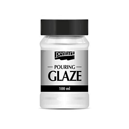 Zita`s Creative Glanz Glasur - 100ml. Glasurlack, Pouring Glaze, Dickflüssiger Lack, Hochglanz-Beschichtung, Dekorlack