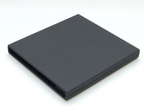 Firstcom Einschub Gehäuse für Slimline 12,7mm Trayload Schubladen Blu-Ray/DVD/CD Laufwerke USB 2.0 schwarz (SATA 9,5mm)