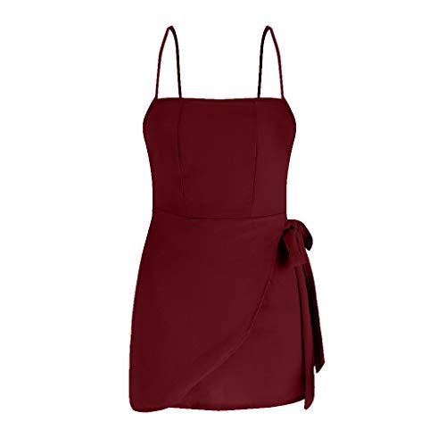 Vestidos Mujer Casual Color sólido Espalda Abierta