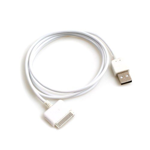 System-S USB Kabel Daten und Ladekabel für Apple iPad 1 2 iPhone 1G 3G 3GS 4G iPod 3G Classic Mini Nano Photo Touch Video Ipod Nano Photo Video
