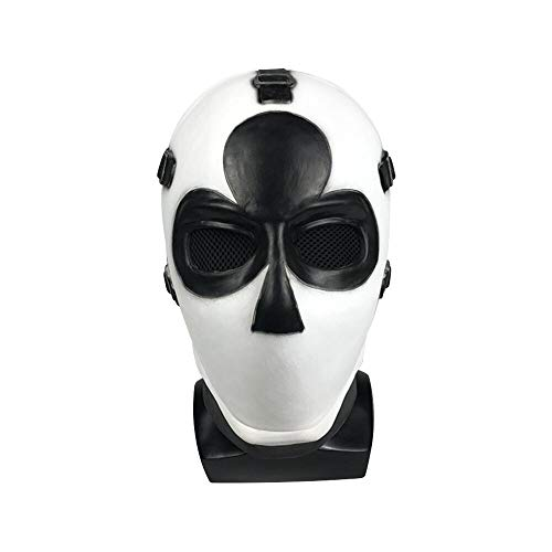 Vercico Poker Máscara de Carnaval de Navidad d'Año Nuevo de Halloween Máscara de Cabeza con Tema de Pascua (Flor de Ciruelo)