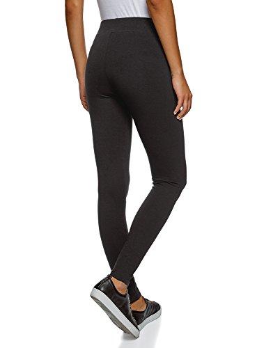 oodji Ultra Damen Leggings Basic (3er-Pack) Mehrfarbig (19ERN)