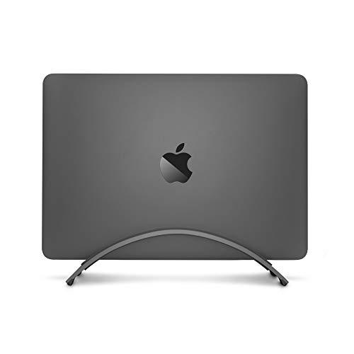 Twelve South BookArc für MacBook , Platzsparender vertikaler Tischständer für Apple Notebooks (silber) Ständer Stand
