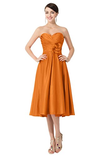 Promgirl House - Robe - Trapèze - Femme Orange