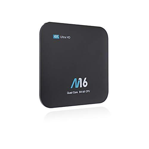 Zach-8 Android-TV-Box, neueste Smart-TV-Boxen für Android 7.1, 1 GB RAM & 8 GB ROM / 4 K @ 60 Fps Ultra HD/Support-Video-Encoder für H.265/2,4 GHz WiFi -
