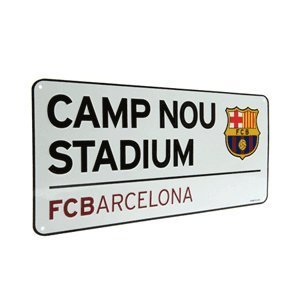 Street Sign - F.C Barcelona