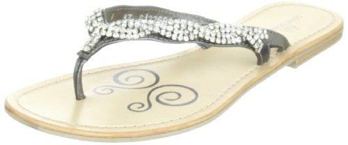 Senhoras S122601 Sofie Schnoor Clássico Sandálias De Prata (prata Antic)