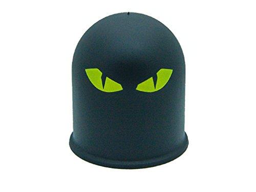 Schutzkappe Anhängerkupplung Dämon Teufel Evil Eye Cap 3 / Böser Blick 3 gelb