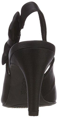s.Oliver Damen 29600 Slingback Pumps Schwarz (Black)