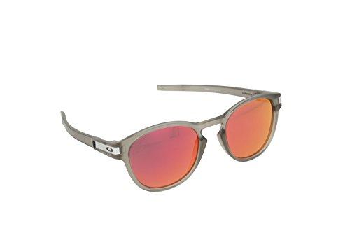 Oakley Herren Sonnenbrille Latch Grau, 53