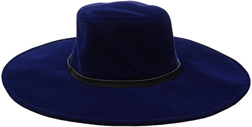 san-diego-hat-company-womens-velvet-floppy-hat-with-pu-band-trim-sappphire-one-size