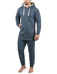 Blend Salinho Men's Overall Onesie Hooded Jumpsuit 4c577d9bee38