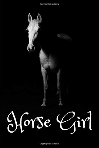 Horse Girl: Gift For Horse Lovers  - Lined Notebook Journal por Jeremy James