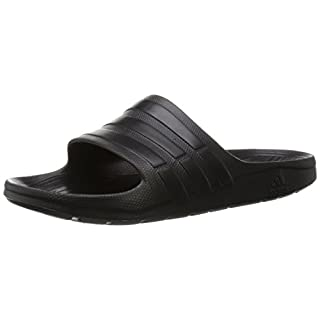 adidas Duramo Slide, Men's Open Toe Sandals, Multicolored (Cblack/Cblack/Cblack), 4.5 UK (37 EU)