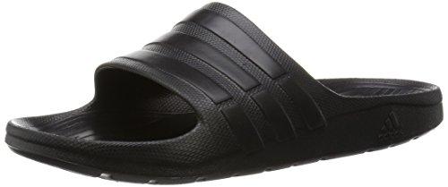 adidas Herren Duramo Slide Open Toe Sandalen, Nero (Cblack/Cblack/Cblack), 43 EU