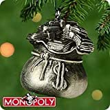 Hallmark Keepsake Ornament - Monopoly Sack of Money (MINIATURE ORNAMENT) 2000 (QXM5341) by Keepsake Ornament