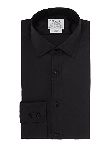 tmlewin-mens-slim-fit-black-poplin-shirt-165