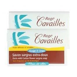 Rogé Cavaillès savon fleur coton 3 x 250g +1 gratuit