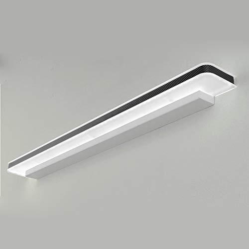 LED-Spiegel Frontlicht Badezimmer Badezimmer Toiletten Schminktisch Moderne wasserdichte nebelfreie Stanzwandlampe * Spiegelleuchten (Farbe: Drei-Farben-Licht-10w / 40cm) Weißes Licht-2 -