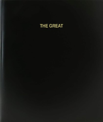 """BookFactory® El gran libro de registro/diario/diario página–120, 8,5""""x11,"""" negro Hardbound (xlog-120–7cs-a-l-black (el gran libro de registro))"""