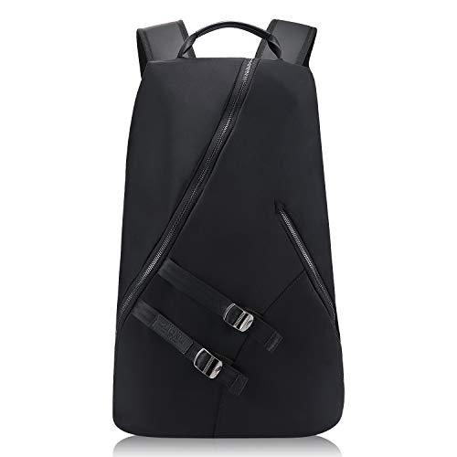 """Coole Rucksäcke Damen Herren, Moderne Laptop Rucksäcke für 15.6"""" Notebook, Lässiger Daypacks, Große Kapazität Schulrucksack Backpack für College/Reisen/Business Schwarzer"""