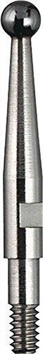 Messeinsatz D.2mm Kugel L.12,8mm Gewinde M1,6 HM f.Fühlhebelmessgerät